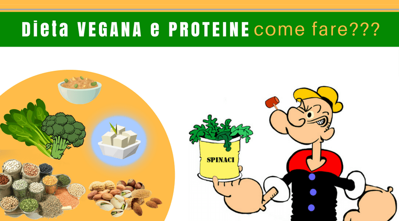 dieta vegana da 200 grammi di proteine