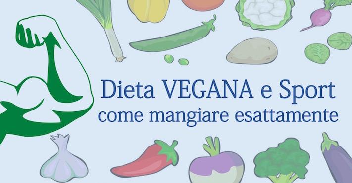 Dieta vegana e sport: come mangiare esattamente