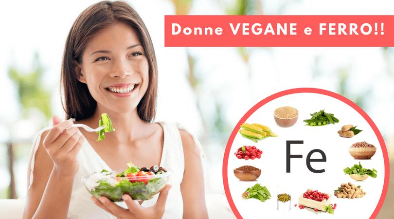 Cibi e Alimenti Vegetali Ricchi di Ferro